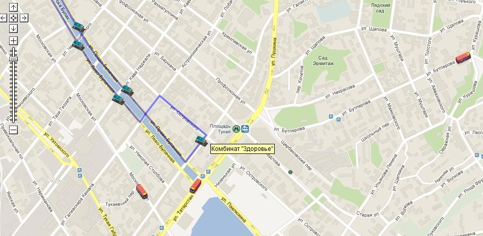 С 11 декабря в Казани будет изменено движение...  С 11 декабря изменяется схема движения автобусных маршрутов 29 и 69...